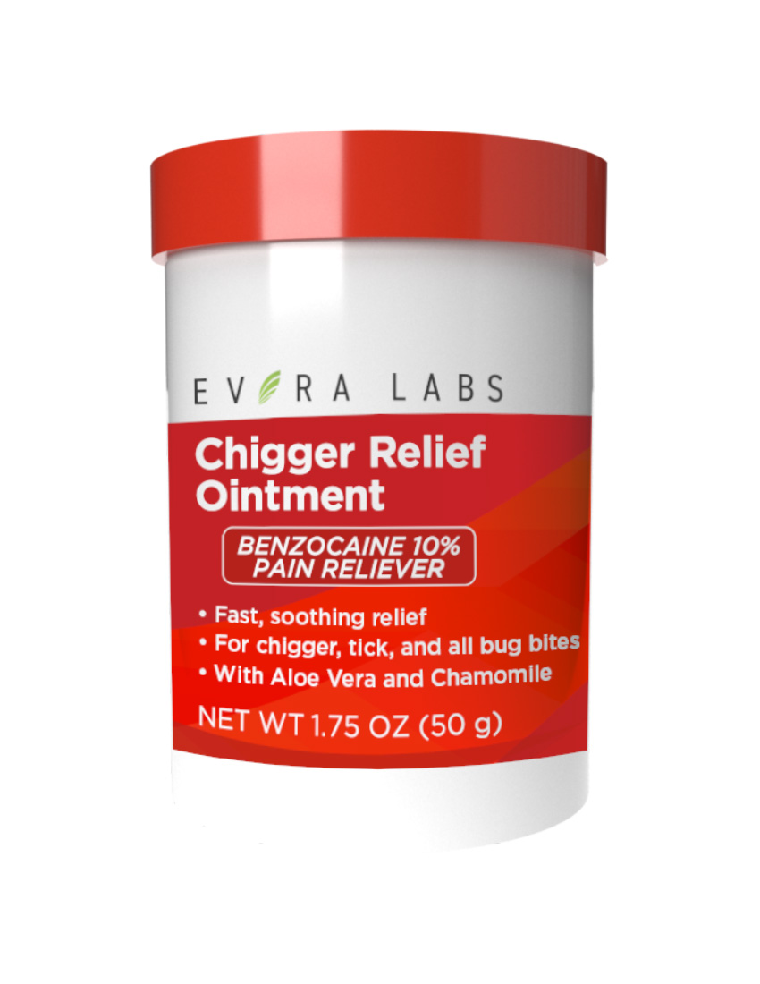 private label chigger relief ointment