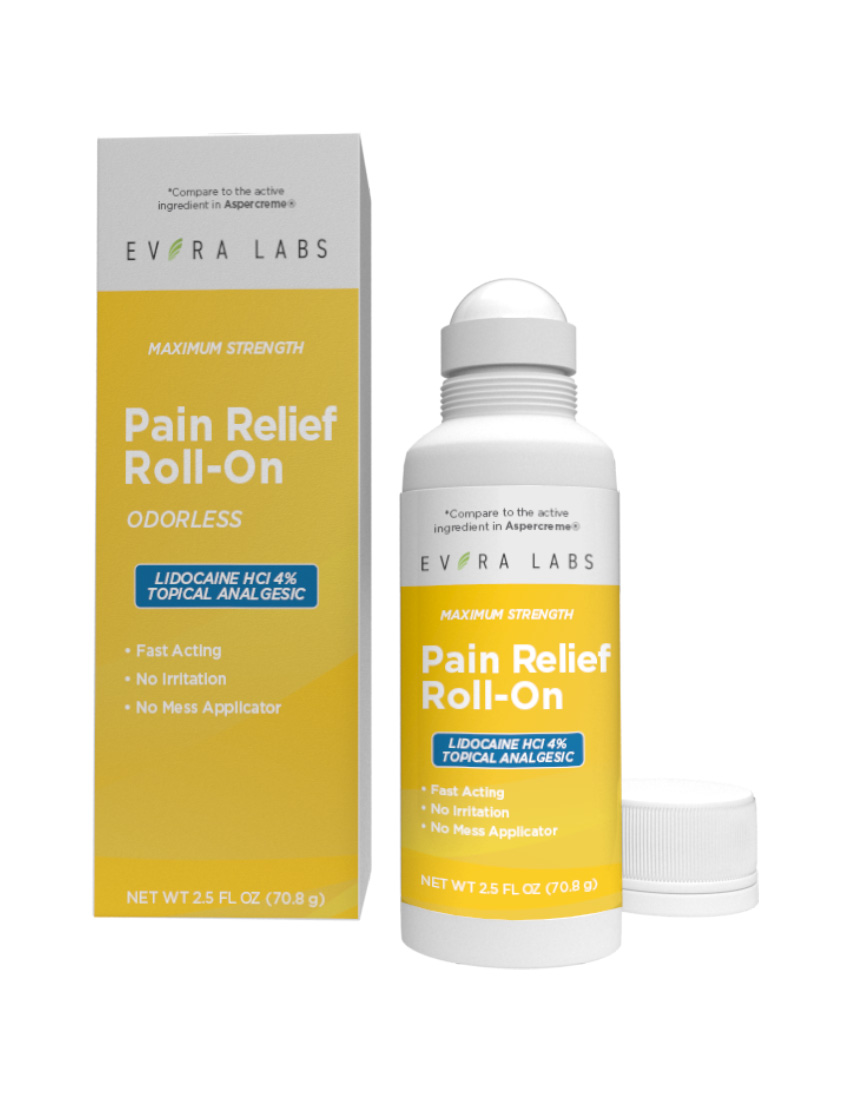 private label pain relief roll on